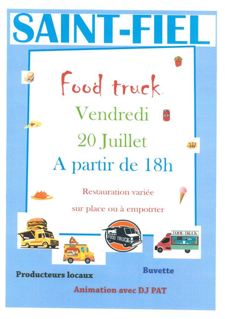 Food truck à St Fiel